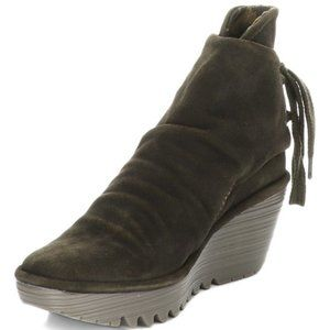 Fly London Yama Suede Boot | Brown